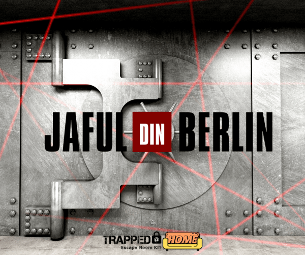 Jaful din Berlin Escape room kit trapped@home