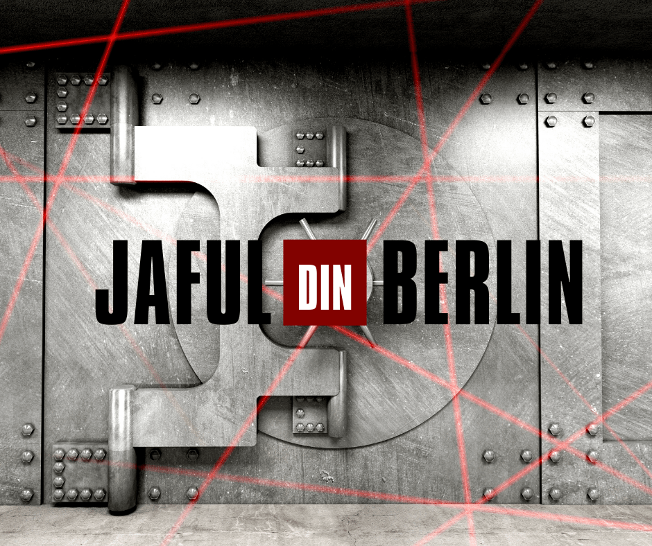 Jaful din berlin escape room kit trapped home