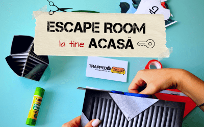 Trapped @ Home - The First Escape Room KIT in Romania